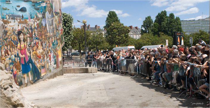 Nantes Le Mur de Roya de Luxe JeanClaudeM jcm-photo