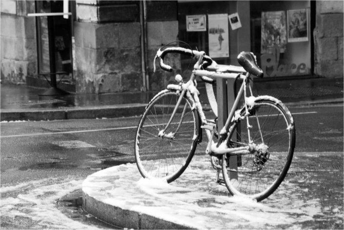 Tour retourné JeanClaudeM jcm-photo vélo neige